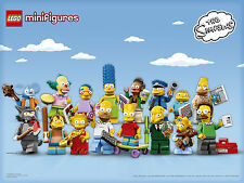 LEGO Minifigures The Simpsons 71005 - Complete Set (16) USA *SEALED*
