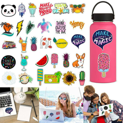 Water Stickers Bottles Big Cute Waterproof Trendy Stickers For Teens