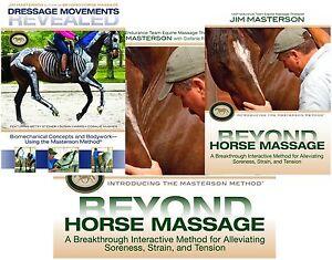 Jim-Masterson-Method-BOOK-amp-DVD-Set-Equine-Massage-Therapy