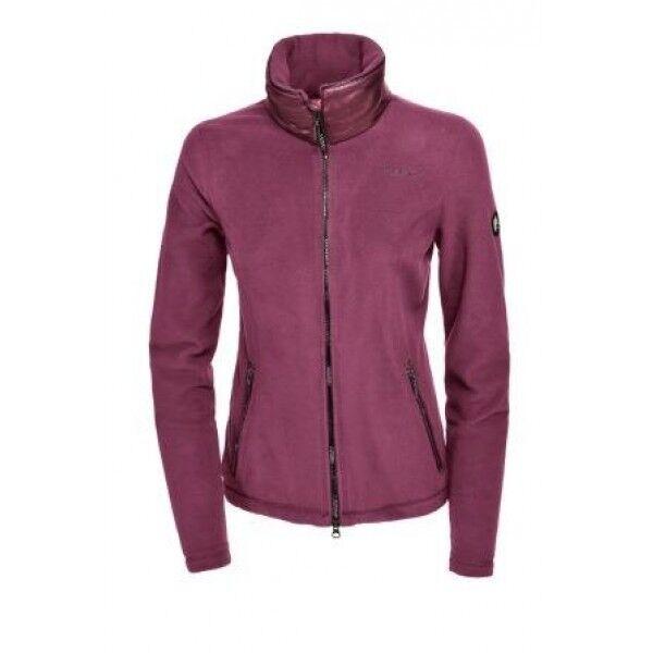 Pikeur Rajana fleece jacket lila Quarz 40