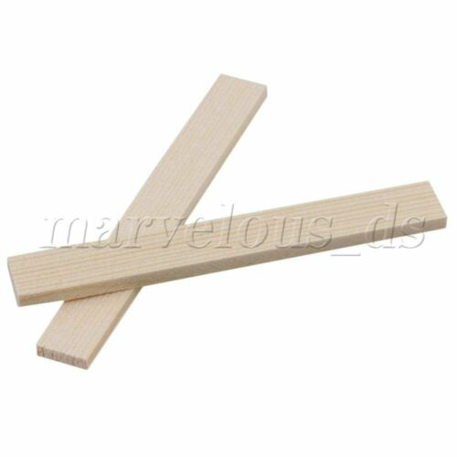 10 Pieces Wood color Cuttable Square Smooth Balsa Model Bamboo Wood Strips