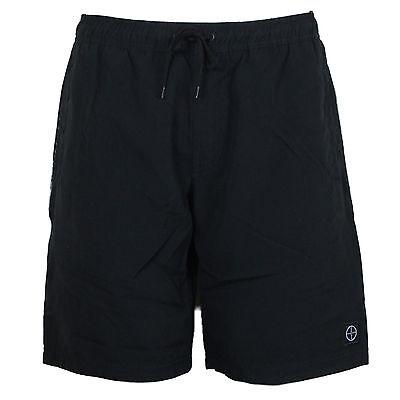 MENS NEW FORAY SHORTS  CASUAL BEACH SUMMER SWIM BLUE GREY BLACK S TO XL £9.99
