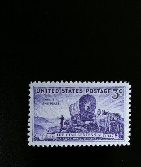 1947 3c Utah Settlement, 100th Anniversary Scott 950 Mi