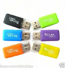 USB 2.0 High Speed Micro SD TF T-Flash Memory CARD READER Adapter for 32gb 64gb