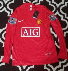 new arrival 82dbe 2fafe Details about 2007-2009 Nike Manchester United Cristiano Ronaldo Jersey -  MEDIUM