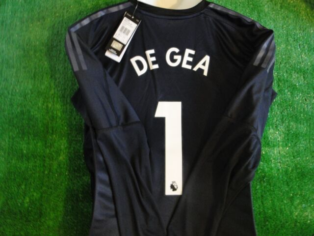 1e95d04b581 Adult XL Manchester United Home Goalkeeper Shirt 2017-18 With De GEA ...