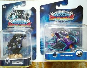 DARK-Skylanders-SUPERCHARGERS-NIGHTFALL-buio-SEA-SHADOW-mezzo-acqua-NUOVO-NEW