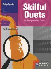 Skilful Duets for Saxophones Alto or Tenor Sax Duet Sheet Music Book
