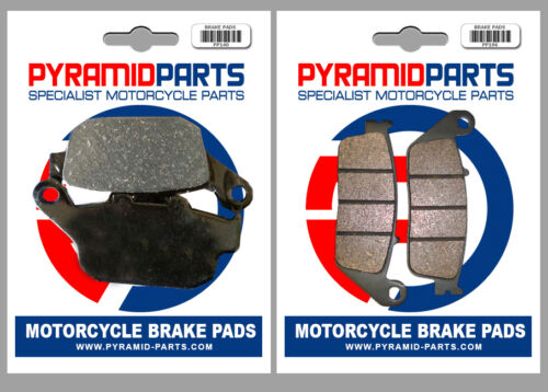 Pyramid Parts Front /& Rear Brake Pads PP196-PP140
