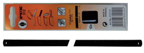 cf 5 pz lama lame originali Puk per ferro metallo mm 150 seghetto sega archetto