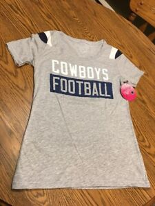 fa098be67 Image is loading Dallas-Cowboys-NFL-Women-039-s-Gray-Rayna-