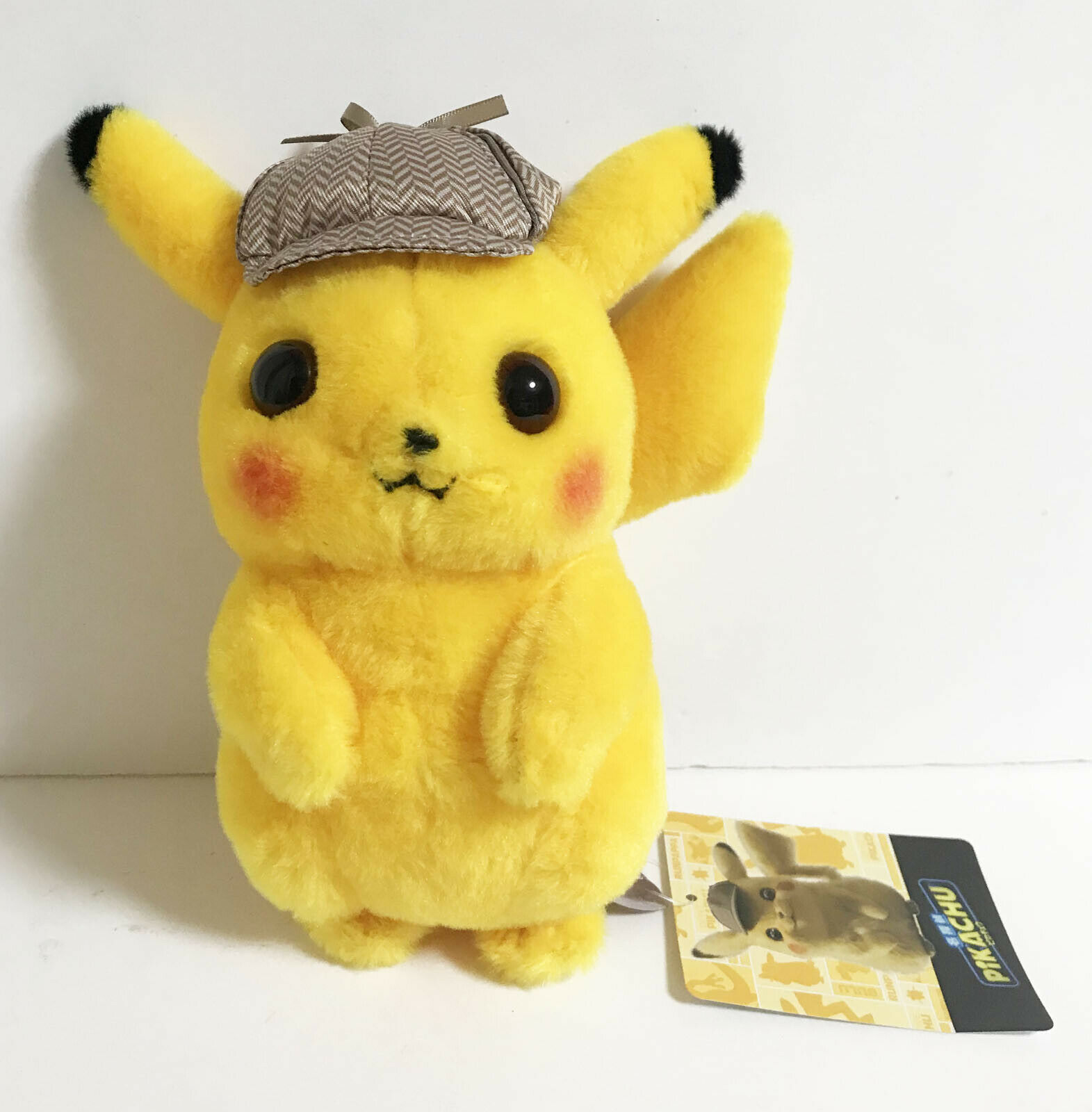 Pokemon Center Original Plush Doll Detective Pikachu Movie Japan