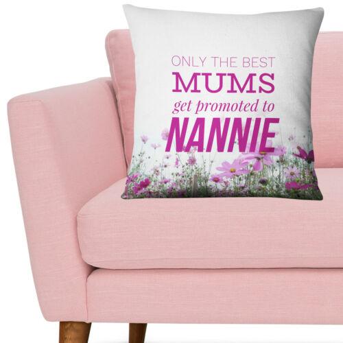 Sólo el mejor las madres obtener promovido a lamprea Cojín Regalo Nieto Bebé Nan EM228