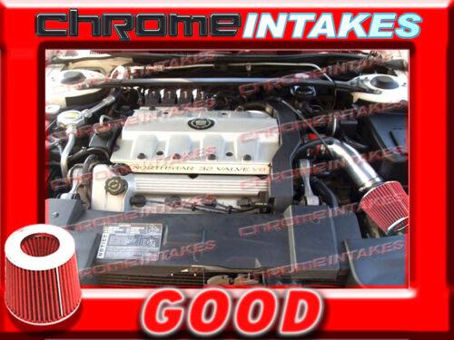 RED 93 94//1993 1994 CADILLAC ELDORADO 4.6 4.6L V8 AIR INTAKE KIT