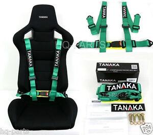 1 Tanaka Universal Green 4 Point Buckle Racing Seat Belt Harness Ebay. Is Loading 1tanakauniversalgreen4pointbuckleracing. Seat. Seat Belt Harness Zipper At Scoala.co