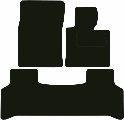 Tailored Deluxe Quality Car Mats Land Rover Range Rover Vogue 2006-2012 ** Black