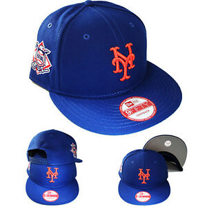 7d6c58cd101 New Era MLB New York Mets 9Fifty Snapback Hat National League Side ...