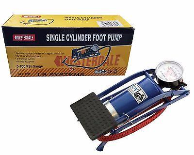 New Single Barrel Cylinder Air Inflator Foot Pump Car Van Bicycle Bike Tyre Nachfrage üBer Dem Angebot