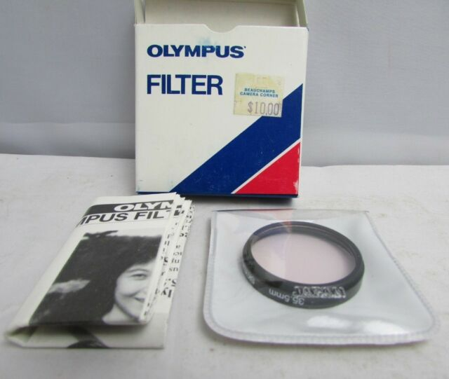 35.5MM Skylight 1A OLYMPUS Filter in CASE and Orig Box