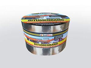 bitumenband 100 mm x 10 m aluminium grau reparaturband. Black Bedroom Furniture Sets. Home Design Ideas