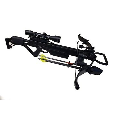 New 2018 Excalibur Matrix Bulldog 400 Crossbow Package Black 400fps