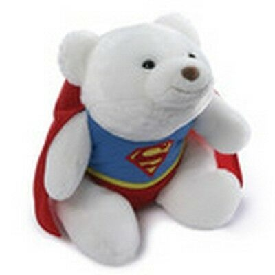 "GUND - BEAR - 9"" SNUFFLES SUPERMAN"
