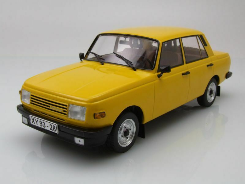 Wartburg 353 1985 Yellow, Model Car 1 18   Mcg