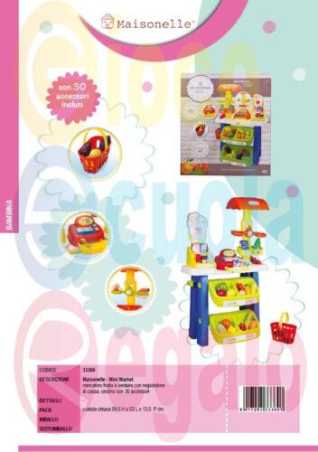 giocoscuolaregalo Cucina Mini Market Super Mercato Giocattolo Maisonelle