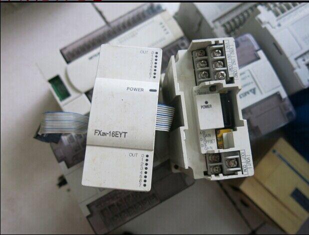 1PCS Mitsubishi PLC Module FX2N-16EYT Used Tested