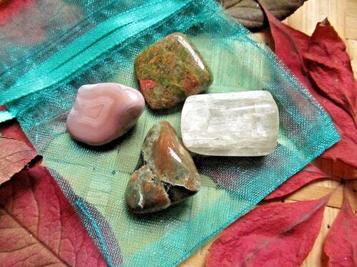 190-Galet de serpentine mouchetée 3,5 à 4cms-Soin par les cristaux-Chakra