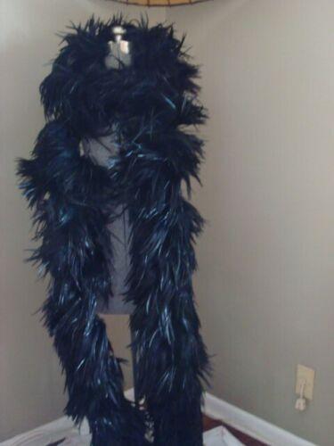 Vintage Black Coque/Feather Boa - 130 inches