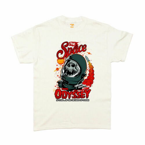 The Space Odyssey - Space Sci-Fi Graphic Skull T-Shirt SB