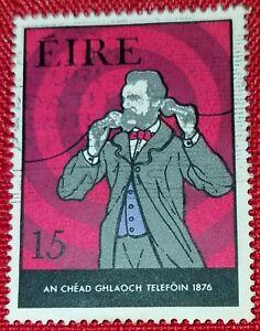 Ireland Eire Postage Stamp Telephone Centenary 1876 1976 15 Ebay