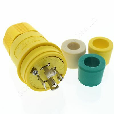Arrow Hart Gray Watertight Locking Connector L23-20R 20A 347//600V 4P5W L2320C