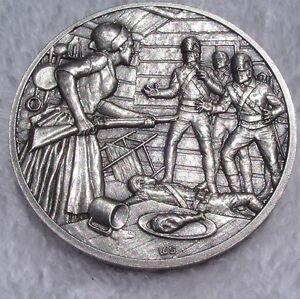 Dar Medal Nancy Morgan Hart American Revolutionary War