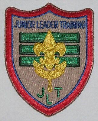Boy Scout JLT Junior Leader Training Patch