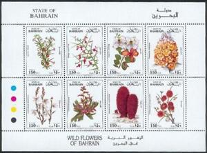 Bahrein-1993-mi-515-22-flora-plantas-endemicas-Flowers-Plants