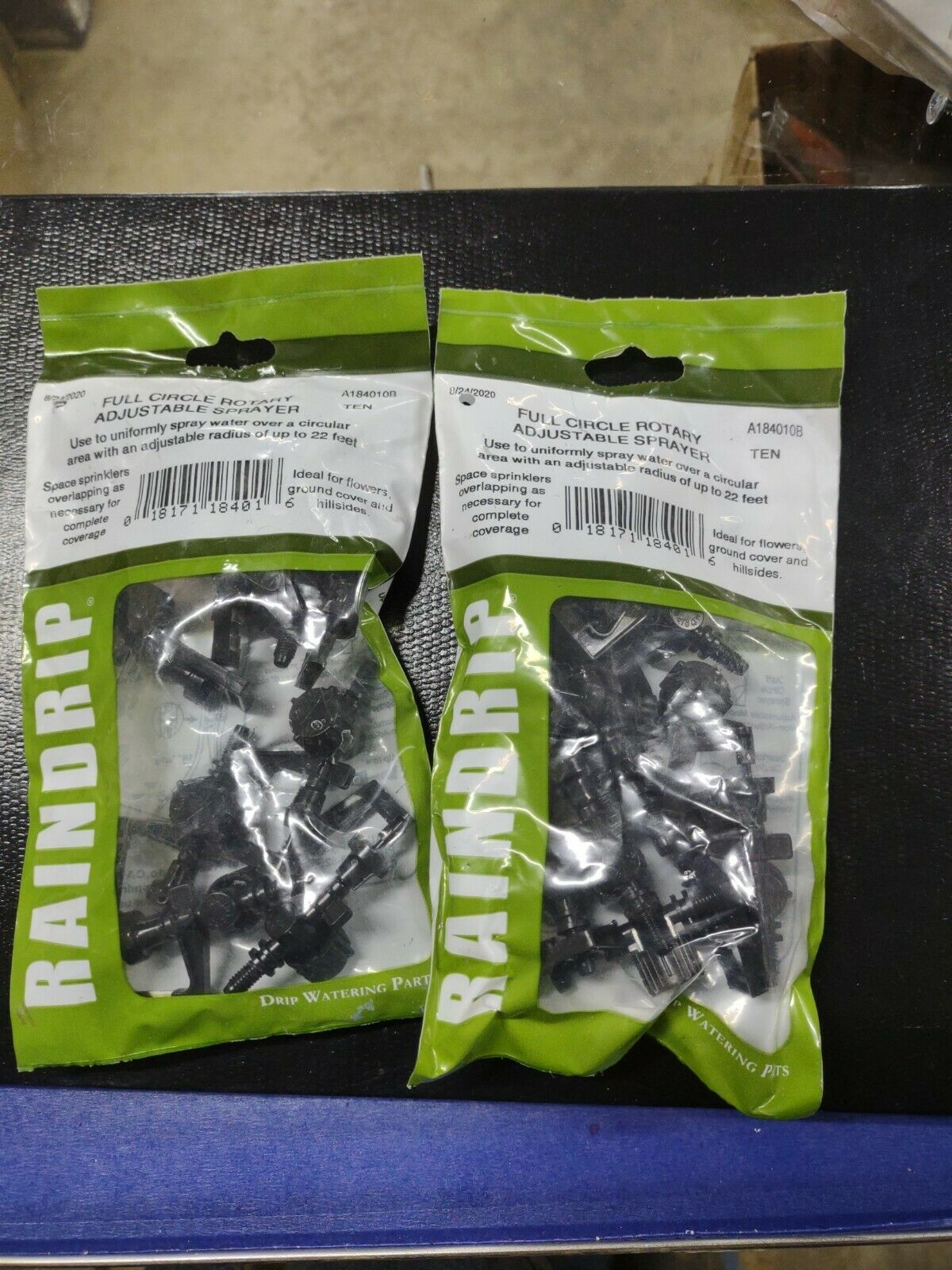 Lot of 20 RainDrip A184010B for Garden, Drip Irrigation, Flowers and Trees
