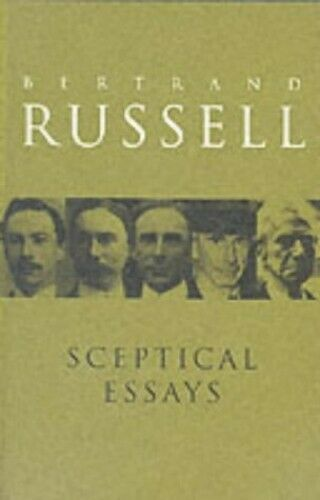 Sceptical Essays (Routledge Classics) by Russell, Bertrand Paperback Book The