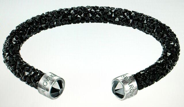 Swarovski Crystaldust Brazalete, Acero Inoxidable Negro 5255906 Nuevo Precio