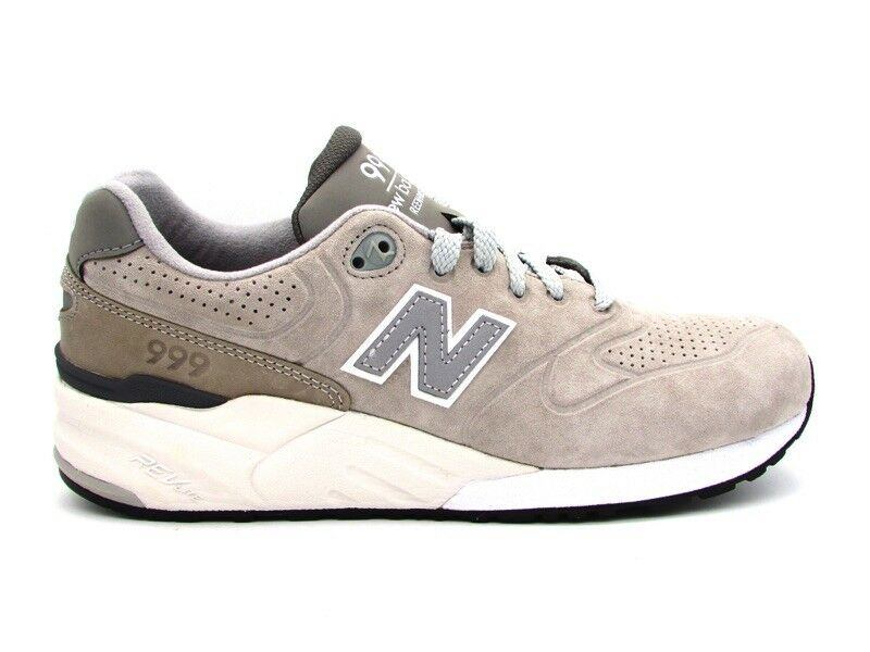NEW BALANCE 999 SNEAKERS grey BIANCO MRL999AG
