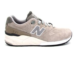 Image is loading NEW-Balance-999-Sneakers-Grey-White-mrl999ag 2be18d67e24