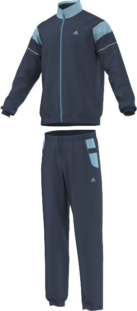 Taille Small 36/38 - Adidas 3 Rayures Ts Valeur Oc Complet Survêtement-bleu