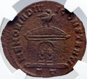 DIVUS-CONSTANTIUS-I-Chlorus-Memorial-Altar-Ancient-305AD-Roman-Coin-NGC-i82606