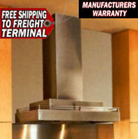 Vent A Hood Cwlh9242-ss Stainless Steel Kitchen Vent Warranty 600 Cfm