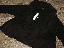 Hebbeding Lagenlook Strick Jacke Gelsia in schwarz Gr3 NEU