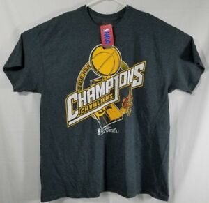 best sneakers f9f15 277de Details about Cleveland Cavaliers 2016 NBA Champions Shirt mens size XL  gray NWT