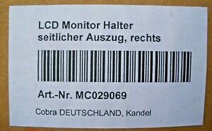 COBRA LCD Monitor Halter seitlicher Auszg rechts - MC029069 - TOP!