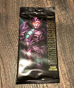 SDCC 2018 Hasbro Exclusive Transformers Trading Card Game Slipstream//Cliffjumper