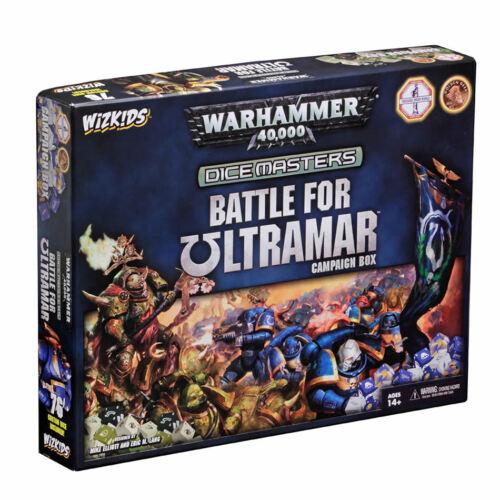 batalla por la Caja de la campaña de Ultramar-nuevo Y Sellado Warhammer 40,000 Dados Masters